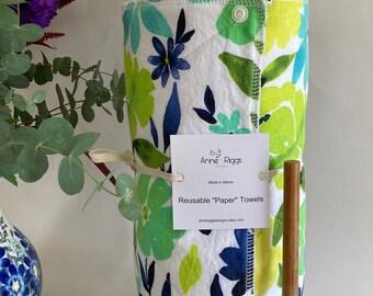 Sustainable Gift, Reusable Paper Towels, Unpaper Towels, Zero Waste Kitchen,
