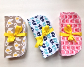 Organic  Cotton, Baby Shower Gift, New Baby Gift, Cloth Wipes, Zero Waste, Green, Reusable, Baby Shower Gift, Baby Girl Gift, Baby Boy Gift