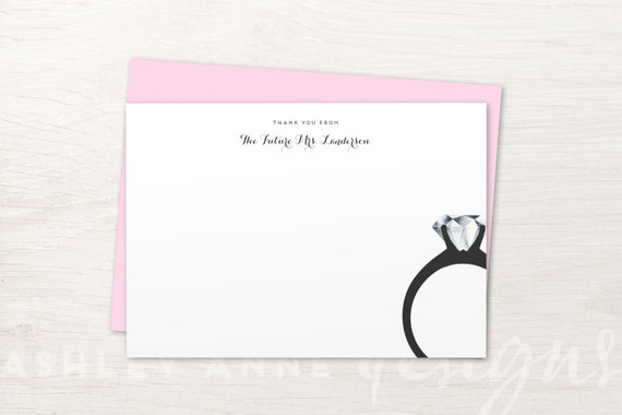 fd70fb882d69 Bridal Shower Thank You Cards