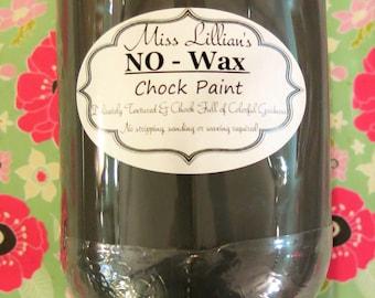 16oz Miss Lillian's No Wax Chock Paint Knight's Armor Paint
