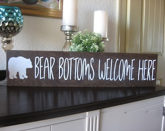 Bear Bathroom Etsy