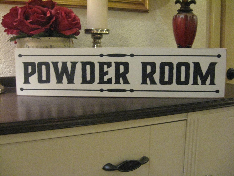 Bathroom Wall Decor Bathroom Decor Powder Room Decor Shabby Chic Decor Shabby Chic Primitive Wood Sign Farmhouse Wall Decor Joanna Gaines