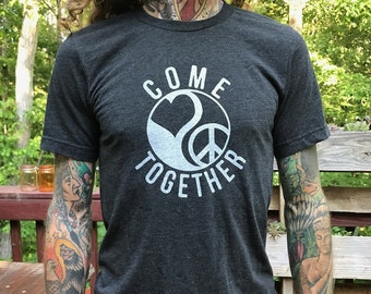 Come Together - Unisex /  Men's  Charcoal Tee