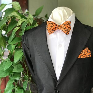 Gents and Dapper Lad Bow Tie Set Handmade Black and Grey Wedding World Traveler Gift Adjustable Simply Me \u2022 Gentlemen