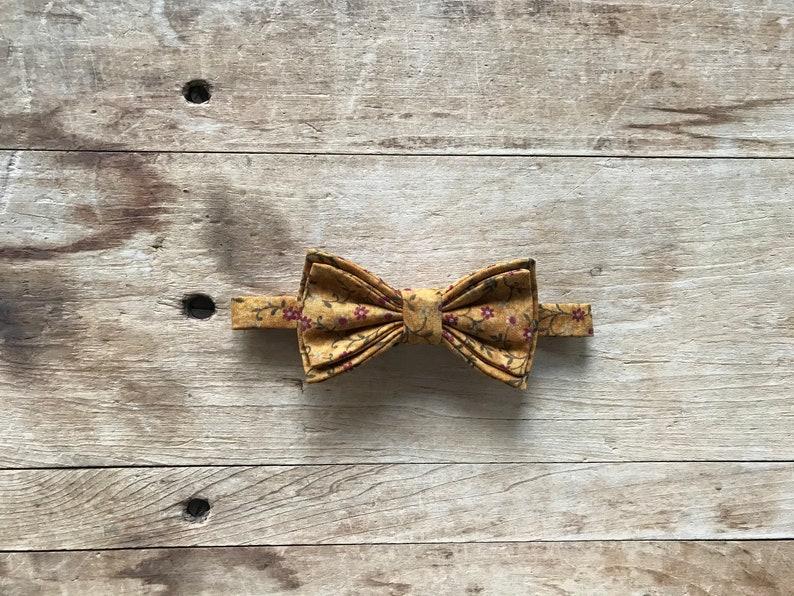 Burnt OrangeDark Red Wedding Kids Bow Tie Adjustable Bow Tie Dapper Lad Simply Me \u2022 Gentlemen Floral Fall Bow Tie Handmade