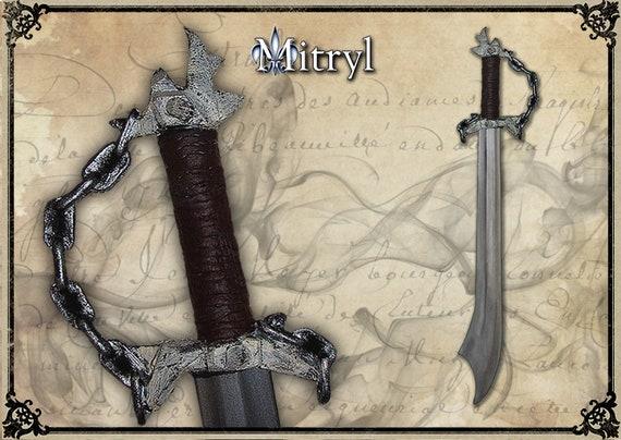 ORCISH Larp sword, Larp weapon, Cosplay sword, Larp gear, Theatrical sword,  LARP prop