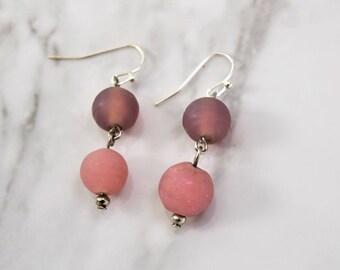 Rose Beach Earrings