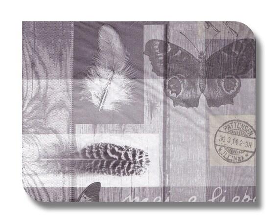 serviette en papier collage pour technique mixte collage etsy. Black Bedroom Furniture Sets. Home Design Ideas