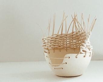 Woven Pottery Study no. 1