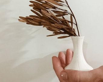 Small Bellied Bud Vase Stoneware #FREESHIPPING #budvase
