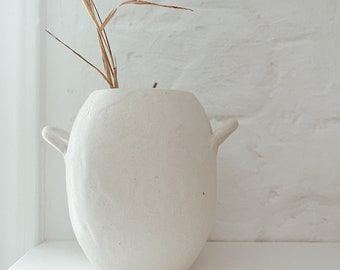 Small Bellied Handle Vase