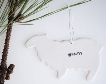 Sheep Personalized Ornament