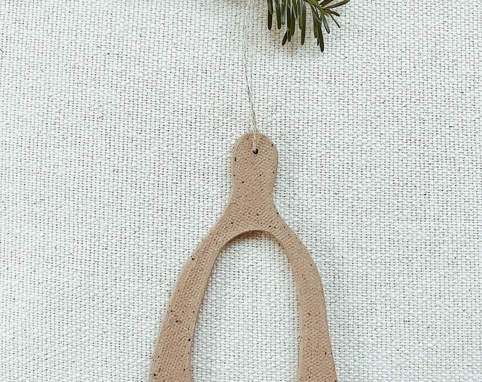 Wishbone Ornament