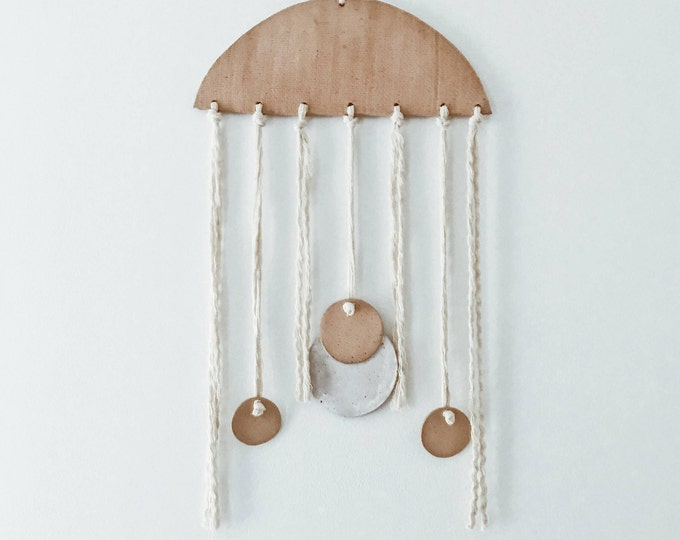 Earthly Jellyfish Wall Art Hanging
