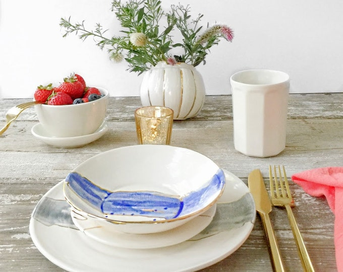 Watercolor Dinnerware Plates