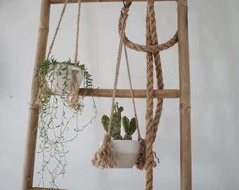 Boho hanging planters