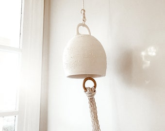 Large Curved Ceramic Bell