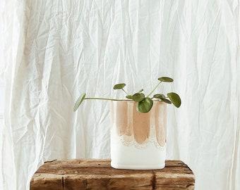 Oblong Brushtroke Vase