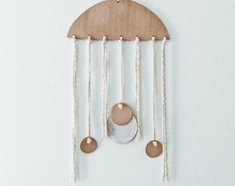 Earthly Jellyfish Wall Art Hanging