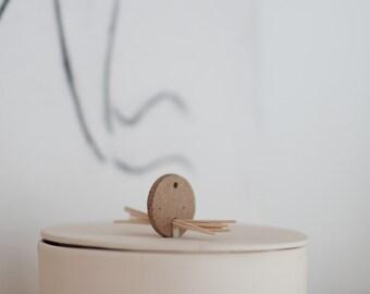 Minimal Jewelry Box Lided Vessel