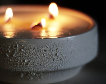 Centerpiece Pottery Sweet Soy Candle