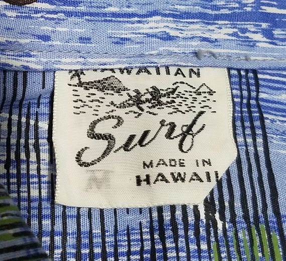 Vintage 1950s Hawaiian Shirt / M - L / Hawaiian S… - image 4