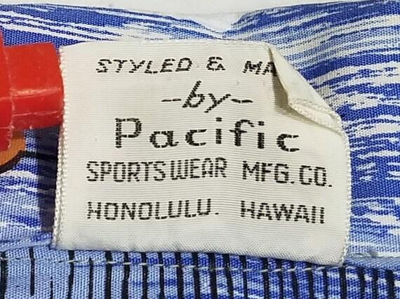 Vintage 1950s Hawaiian Shirt / M - L / Hawaiian S… - image 5