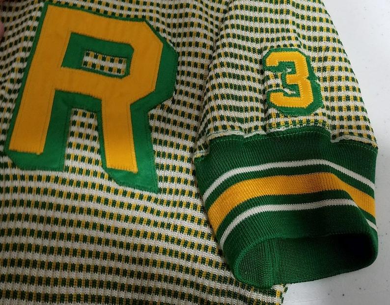 Vintage 1950s Rawlings Basketball Warm Up Jersey Shirt  M  image 0