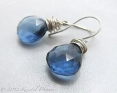 London Blue Quartz earrin...