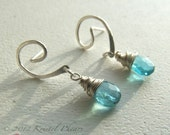Blue Apatite Earrings - s...
