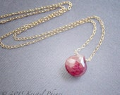 Genuine Ruby Necklace - J...