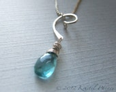 Apatite necklace sterling...