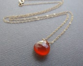 Carnelian Necklace - Mode...