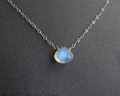 Moonstone necklace - June...