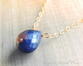 Lapis Necklace - genuine ...