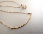 Gold Bar Necklace - hamme...