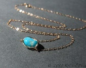 Turquoise Necklace - genu...