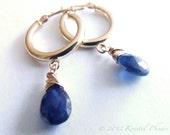 Sapphire Earrings Solid 1...