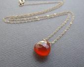 Carnelian Necklace - Mode...