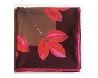 vintage Vera Fall leaves scarf