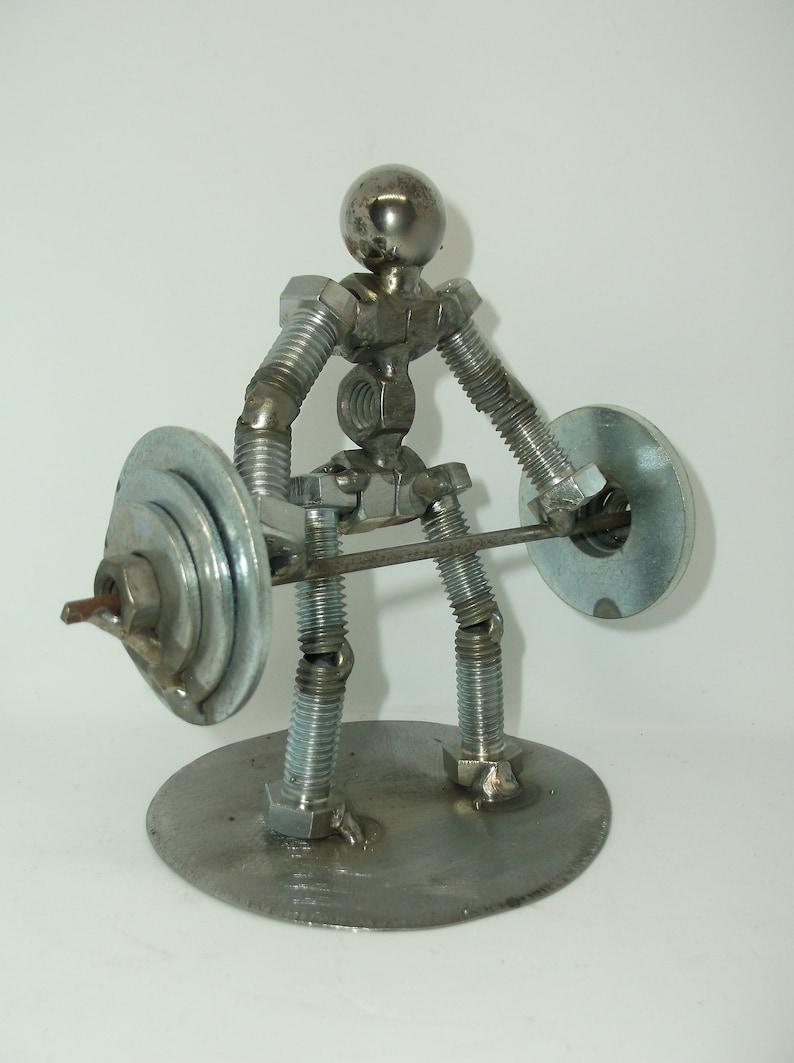 Auf Verkauf Toten Lift Metall Bolzen Figur Gewicht Heber Etsy