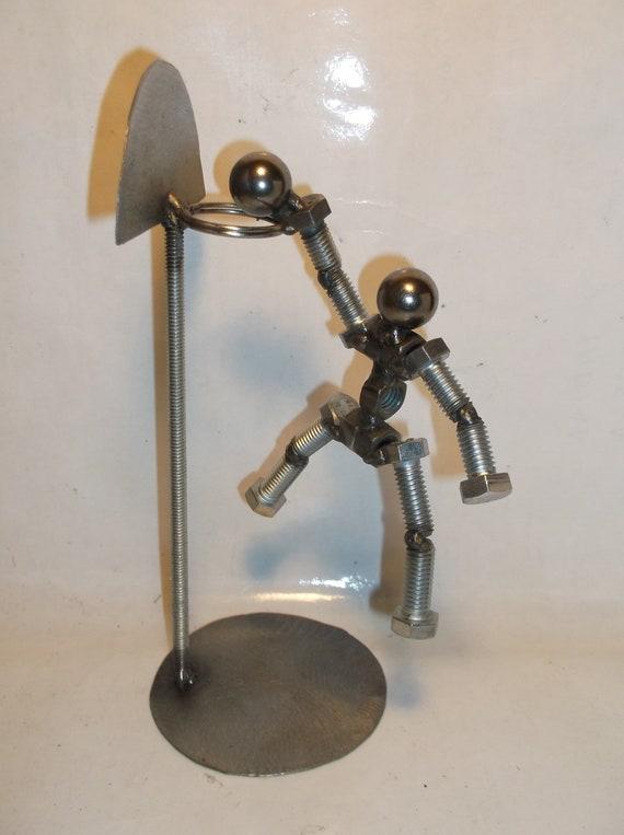 On Sale Basketball Player Metal Bolt Figurine
