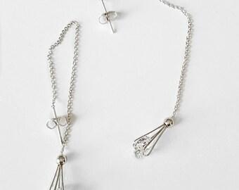 Crystal Thread Earrings