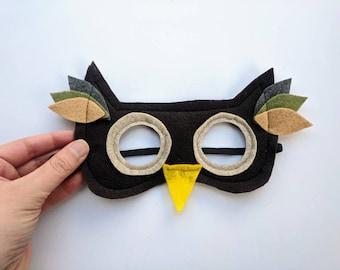 Felt Owl Mask for Kids