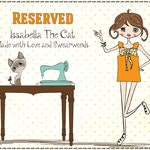 Reserved listing for Genevieve