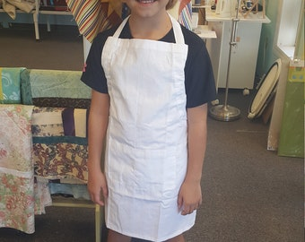 Machine Embroidered Child's Apron  and Chef Hat!