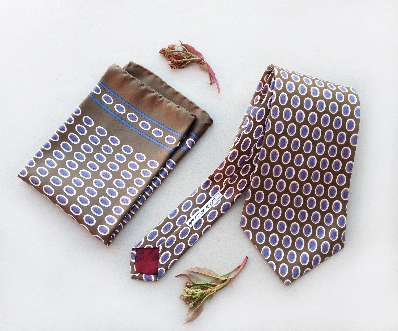 Blue /& Gold di SETA FAZZOLETTO DA TASCHINO Hankerchief per Top Jacket Tasca ottima come regalo