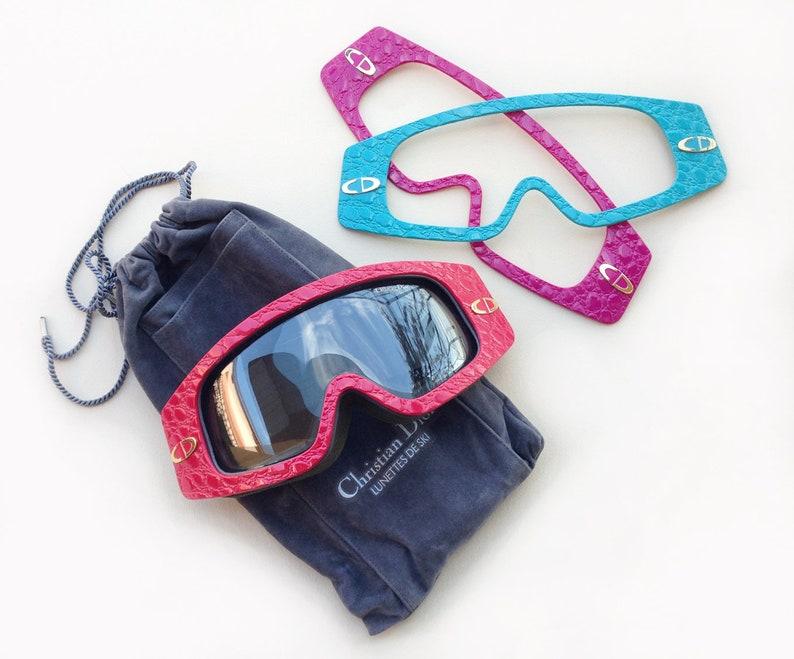 a87da05621 Rare CHRISTIAN DIOR 2500 Vintage Ski goggles   1980s men s
