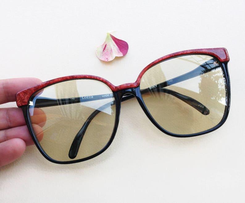 bbf3ef26242 LOZZA Vintage sunglasses   70s NOS oversized designer frames