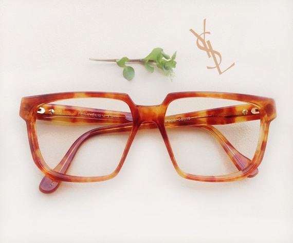 855daaa746 YVES SAINT LAURENT Mopsos eyeglass   1980s Ysl